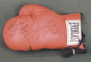 FLOYD MAYWEATHER JR. - BOXING GLOVE SIGNED CO-SIGNED BY: ARTURO GATTI
