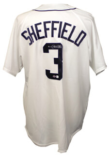 GARY SHEFFIELD - JERSEY SIGNED
