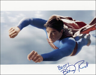 BRANDON ROUTH - AUTOGRAPHED SIGNED PHOTOGRAPH