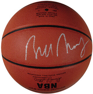 BILL BRADLEY - BASKETBALL SIGNED