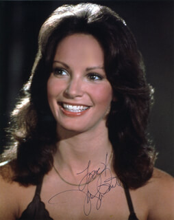 JACLYN SMITH - AUTOGRAPHED SIGNED PHOTOGRAPH