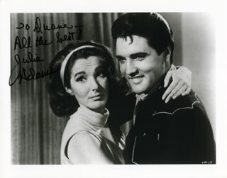 Autographs: JULIE ADAMS - INSCRIBED PHOTOGRAPH SIGNED
