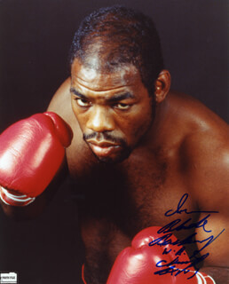 IRAN THE BLADE BARKLEY - AUTOGRAPHED SIGNED PHOTOGRAPH