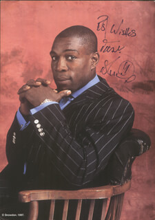 FRANK BRUNO - AUTOGRAPHED SIGNED PHOTOGRAPH