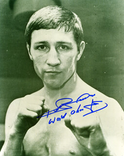 KEN BUCHANAN - AUTOGRAPHED SIGNED PHOTOGRAPH