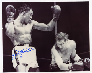 KID GAVILAN - AUTOGRAPHED SIGNED PHOTOGRAPH