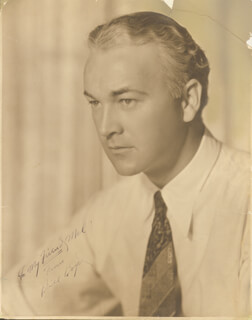 WILLIAM HOPPY BOYD - AUTOGRAPHED INSCRIBED PHOTOGRAPH