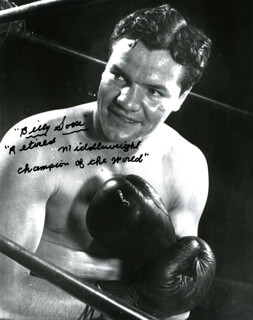 BILLY SOOSE - AUTOGRAPHED SIGNED PHOTOGRAPH