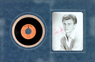BOBBY RYDELL - AUTOGRAPHED SIGNED PHOTOGRAPH