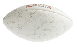 The San Francisco Forty Niners Memorabilia 276323