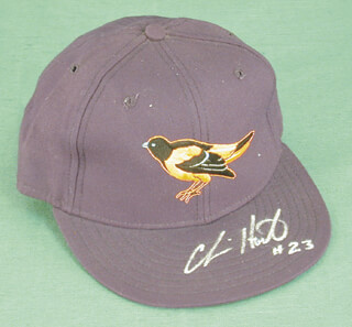 CHRIS HOILES - HAT SIGNED