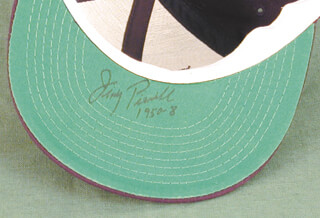 JIMMY PIERSALL - HAT SIGNED