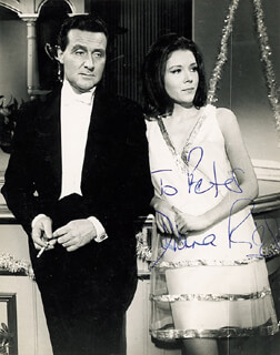 DIANA RIGG - AUTOGRAPHED INSCRIBED PHOTOGRAPH