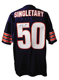 MIKE SINGLETARY - JERSEY SIGNED