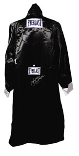KEN NORTON - BOXING ROBE SIGNED