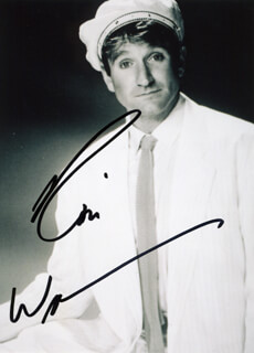 ROBIN WILLIAMS - AUTOGRAPHED SIGNED PHOTOGRAPH