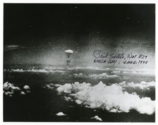 ENOLA GAY CREW (PAUL W. TIBBETS) - AUTOGRAPHED SIGNED PHOTOGRAPH