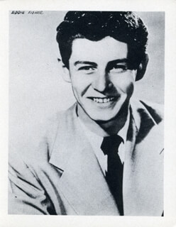 EDDIE FISHER - PHOTOGRAPH UNSIGNED