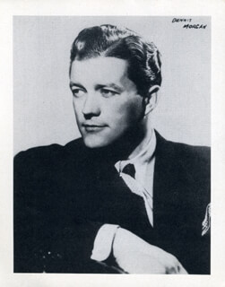 DENNIS MORGAN - PHOTOGRAPH UNSIGNED