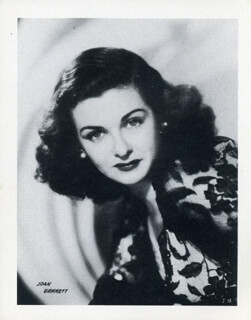 JOAN BENNETT - PHOTOGRAPH UNSIGNED