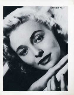 PATRICIA NEAL - PHOTOGRAPH UNSIGNED