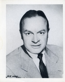 BOB HOPE - PHOTOGRAPH UNSIGNED
