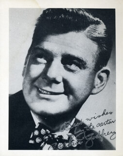 Autographs: ARTHUR GODFREY - PHOTOGRAPH UNSIGNED