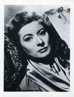 GREER GARSON - PHOTOGRAPH UNSIGNED
