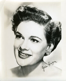 JEAN HAGEN - PHOTOGRAPH UNSIGNED