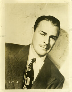 BRIAN DONLEVY - PHOTOGRAPH UNSIGNED