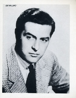 RAY MILLAND - PHOTOGRAPH UNSIGNED