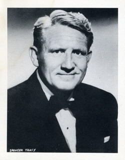 SPENCER TRACY - PHOTOGRAPH UNSIGNED
