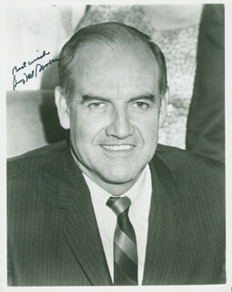 GEORGE MCGOVERN - AUTOGRAPHED SIGNED PHOTOGRAPH