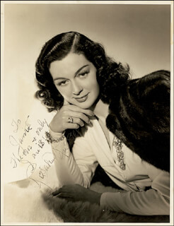 ROSALIND RUSSELL - AUTOGRAPHED INSCRIBED PHOTOGRAPH
