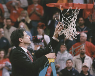 RICK PITINO - AUTOGRAPHED SIGNED PHOTOGRAPH