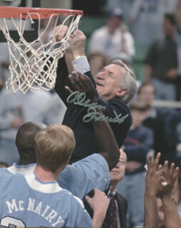 DEAN SMITH - AUTOGRAPHED SIGNED PHOTOGRAPH