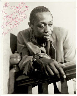 STEPIN FETCHIT - AUTOGRAPHED INSCRIBED PHOTOGRAPH 09/08/1980