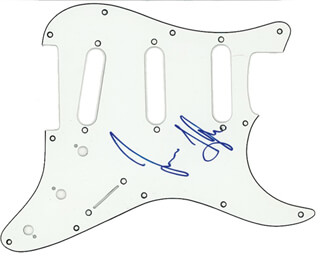 JAMES TAYLOR - PICK GUARD SIGNED
