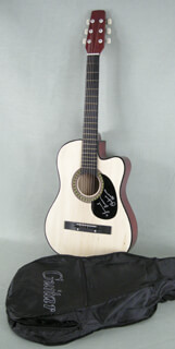 RICHIE HAVENS - GUITAR SIGNED