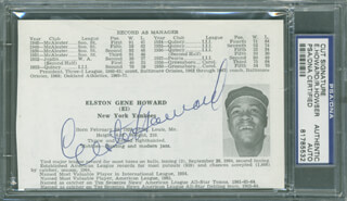 ELSTON ELLIE HOWARD - AUTOGRAPH CO-SIGNED BY: DICK HOWSER