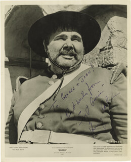 HENRY CALVIN - AUTOGRAPHED INSCRIBED PHOTOGRAPH