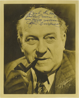 EDGAR KENNEDY - AUTOGRAPHED INSCRIBED PHOTOGRAPH