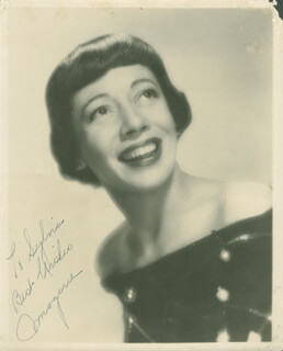 IMOGENE COCA - AUTOGRAPHED INSCRIBED PHOTOGRAPH