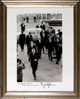 PRESIDENT LYNDON B. JOHNSON - AUTOGRAPHED INSCRIBED PHOTOGRAPH