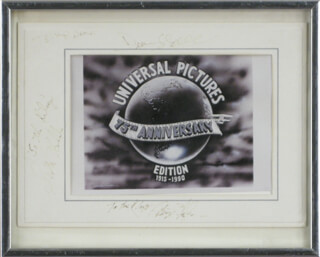 CRAIG T. NELSON - PHOTOGRAPH MOUNT SIGNED CO-SIGNED BY: DEAN STOCKWELL, SCOTT BAKULA
