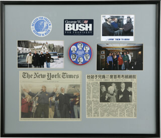 PRESIDENT GEORGE W. BUSH - EPHEMERA UNSIGNED