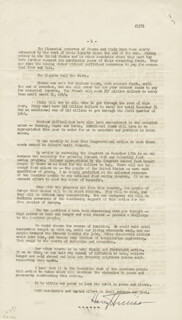 PRESIDENT HARRY S TRUMAN - SPEECH SIGNED 01/24/1947