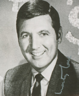 MONTY HALL - AUTOGRAPHED SIGNED PHOTOGRAPH