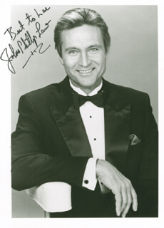 JOHN PHILLIP LAW - AUTOGRAPHED INSCRIBED PHOTOGRAPH
