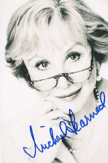 MICHAEL LEARNED - AUTOGRAPHED SIGNED PHOTOGRAPH